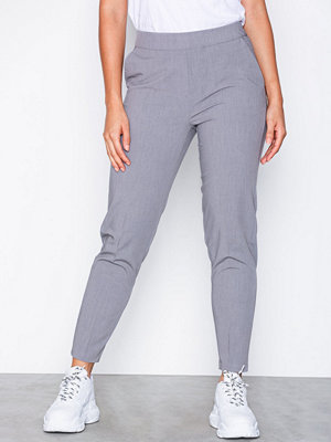 Object Collectors Item omönstrade byxor Objcecilie Mw 7/8 Pants Noos Grey