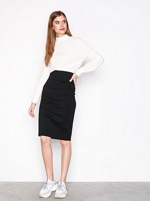 Filippa K High Waisted Pencil Skirt Black