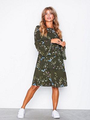 Lauren Ralph Lauren Day 3/4 Sleeve Dress Green