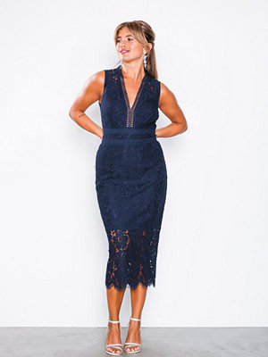 TFNC Tyra Midi Dress Navy