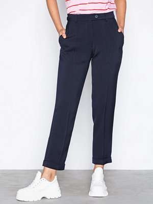 Topshop marinblå byxor Cigarette Trousers by Boutique