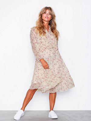 Polo Ralph Lauren Casual Long Sleeve Dress Pink