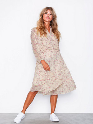 Polo Ralph Lauren Ls Ema Dr-Long Sleeve-Casual Dress Pink