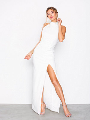 NLY Eve High Neck Halter Gown Vit