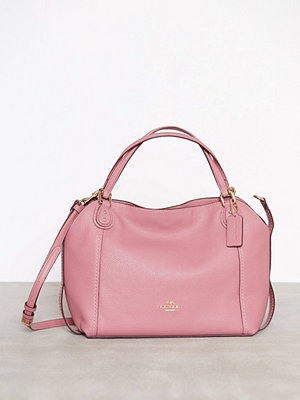 Coach gammelrosa axelväska Polished Pebble Lthr Edie 28 Shoulder Bag Rose