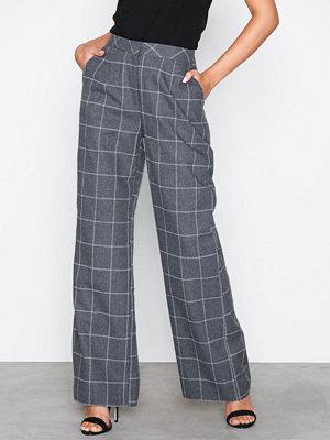 NLY Trend rutiga byxor Casual Check Pants Rutig