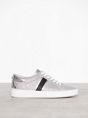 MICHAEL Michael Kors Keaton Stripe Sneaker Svart/Silver