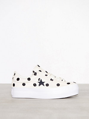 Converse One Star Platform Ox Bone