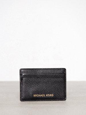 Plånböcker - MICHAEL Michael Kors Money Pieces Card Holder Svart