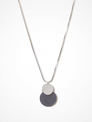 Pieces halsband Pctinna Long Necklace Silver