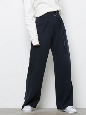 Samsøe & Samsøe byxor Mella pants 9318 Dark Sapphire