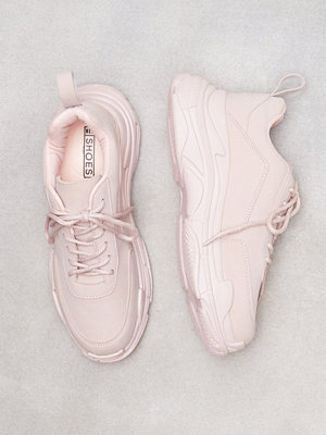 Sneakers & streetskor - NLY Shoes Perfect Chunky Sneaker Dusty Pink