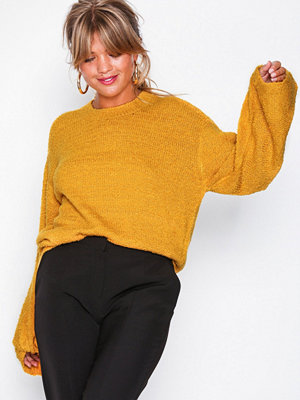 NLY Trend Twisted Sleeve Knit Gul