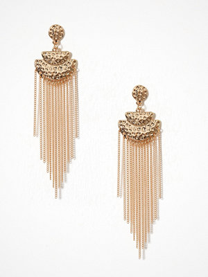 Pieces örhängen Pctanni Earrings Guld