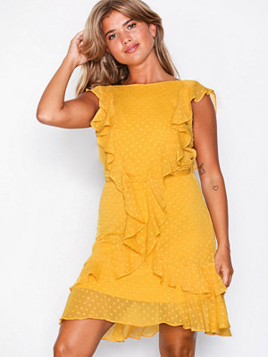 NLY Trend Flirty Dress Mustard