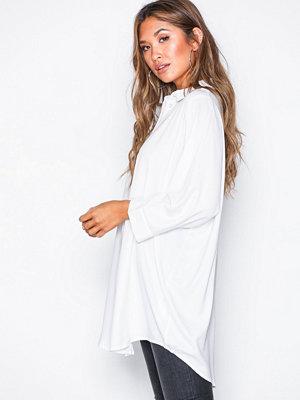 Vero Moda Vmsanne 3/4 Long Shirt Vit