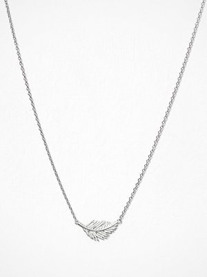 MINT By TIMI halsband Feather Necklace Silver