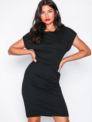 Selected Femme Slfvella Ss Dress B Svart