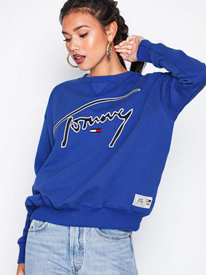 Tommy Jeans TJM Tommy SIgnature crew Surf The Web