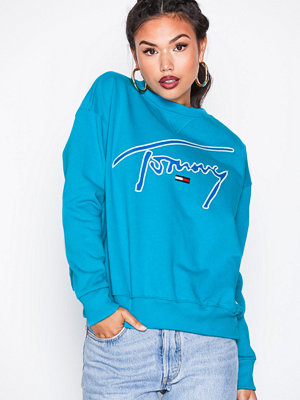 Tommy Jeans TJM Tommy SIgnature crew Blue