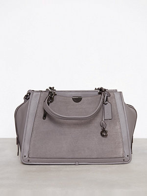 Handväskor - Coach Mixed Leather Dreamer 36 Grå