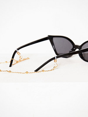 Solglasögon - NLY Accessories Exclusive Sunglasses Chain Guld
