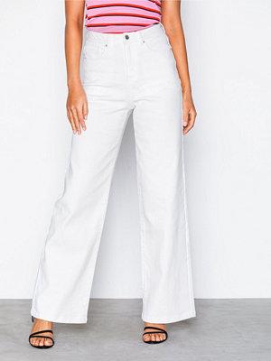 Vero Moda Vmkathy Herona Hr Boxy White Jeans Vit