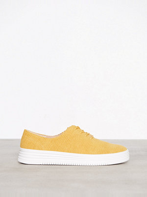 Bianco Laced Up Casual Shoe Mustard