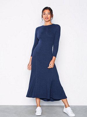 Polo Ralph Lauren 3/4 Sleeve Casual Dress Navy