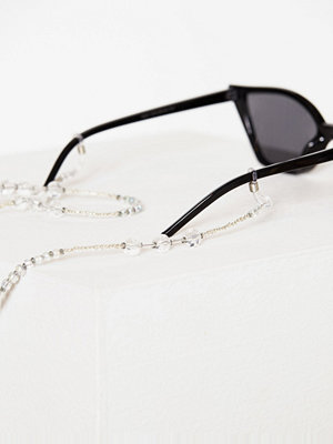 Solglasögon - NLY Accessories Clear Crystal Sunglasses String