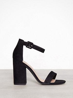 New Look Block Heel Black