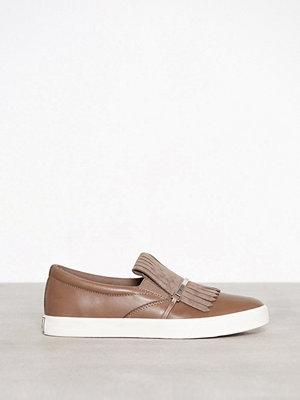 Sneakers & streetskor - Lauren Ralph Lauren Reanna Sneakers Taupe