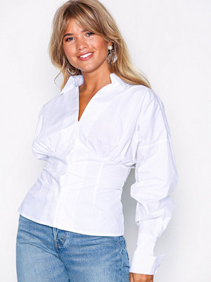 NLY Trend Fitted Shirt Vit