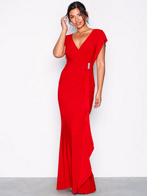 Lauren Ralph Lauren Natakara Evening Dress Red