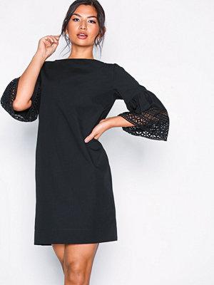 Lauren Ralph Lauren 3/4 Sleeve Casual Dress Black