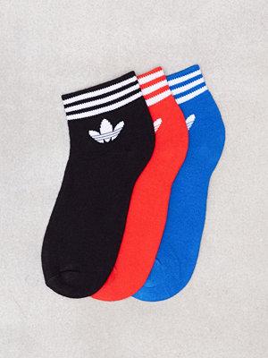 Adidas Originals Trefoil Ank Str Svart