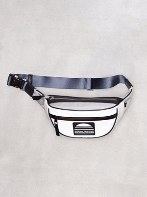 Marc Jacobs vit axelväska Sport Fanny Pack Light Grey