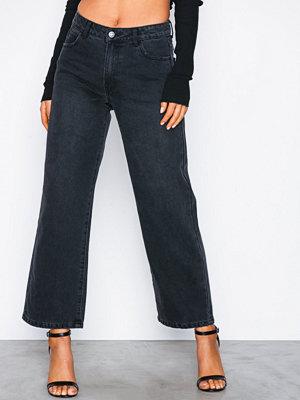 Vila Vidahla Rw Wide Cropped Denim Jeans