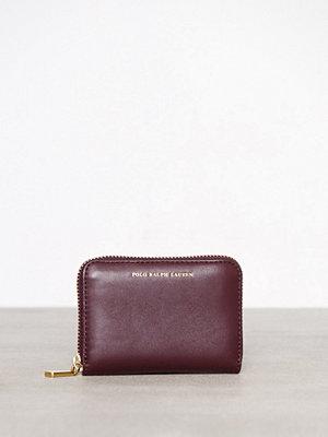 Polo Ralph Lauren Small Zip Wallet Plum