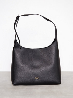 MICHAEL Michael Kors Junie Md Hobo Svart