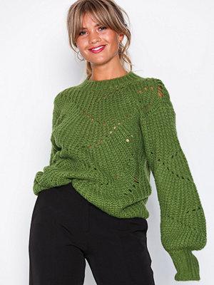 NLY Trend Pattern Detail Knit Grön