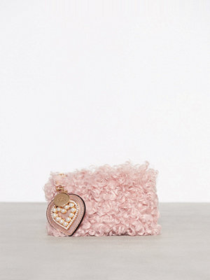 River Island gammelrosa kuvertväska Borg Pouch Light Pink