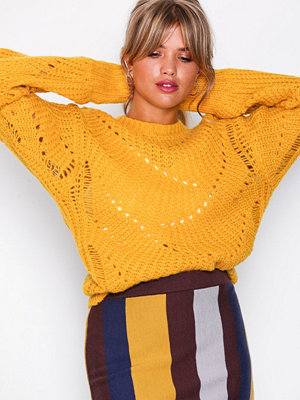 NLY Trend Pattern Detail Knit Gul