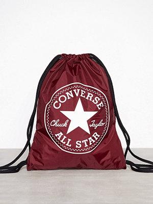 Converse ryggsäck med tryck Flash Gymsack Lila