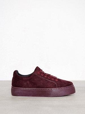 Pieces Psmonet Textile Sneaker Mörk Lila