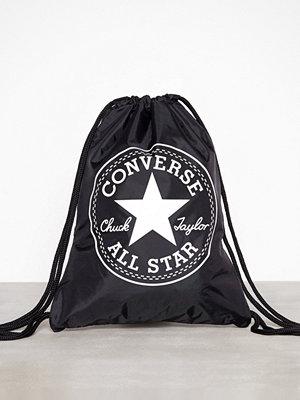 Converse Flash Gymsack Svart ryggsäck med tryck