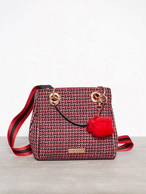 Handväskor - River Island Check Mini Tote Bag Red