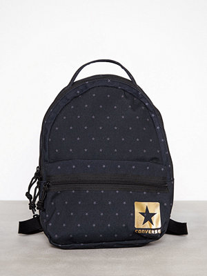 Converse svart prickig ryggsäck Mini BP 11L Grå