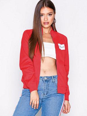 Calvin Klein Jeans röd bomberjacka Zip Up Track Jacket