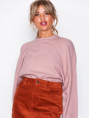 NLY Trend Sleeve Focus Knit Light Pink